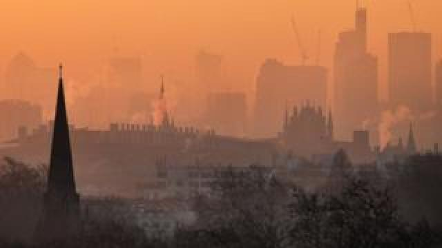 Primrose Hill skyline