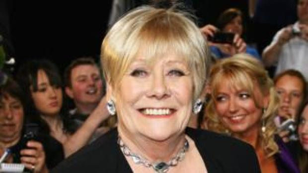 Liz Dawn at the British Soap Awards 2008
