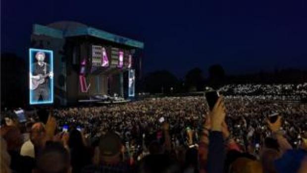 Ed Sheeran at Chantry Park