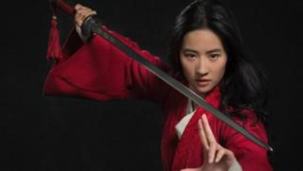 Disney shared a first look at its new live-action film Mulan.