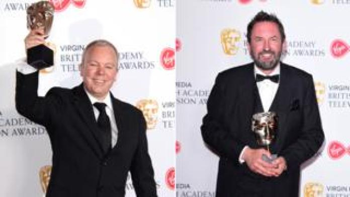 Steve Pemberton and Lee Mack