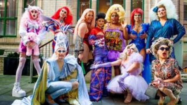 The queens of RuPaul Drag Race UK