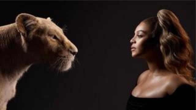 Beyonce plays Nala in the remake of Disney's classic animation