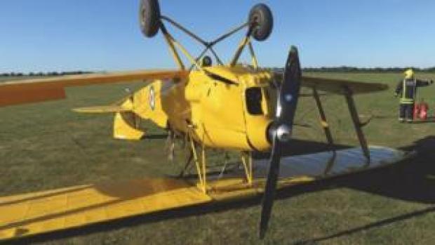Sywell Aerodrome crash