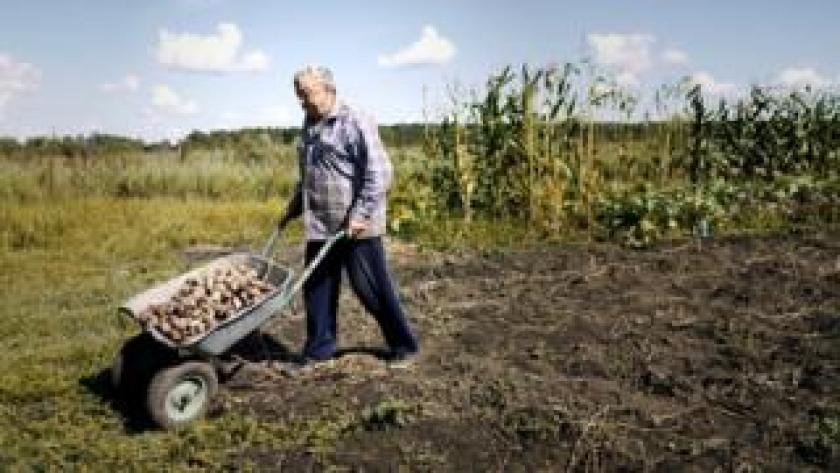 Residents in Maksimovka complain that young people tend to head to the cities, leaving only pensioners behind