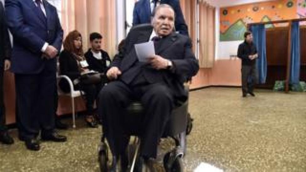Abdelaziz Bouteflika, 2017 picture