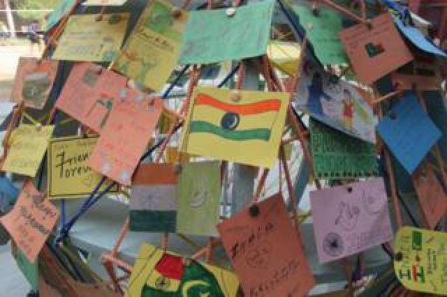Letters and postcards from India at the Lahore school