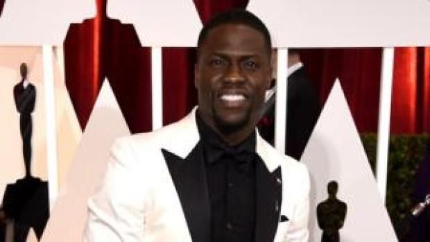 Kevin Hart at the 2015 Oscars