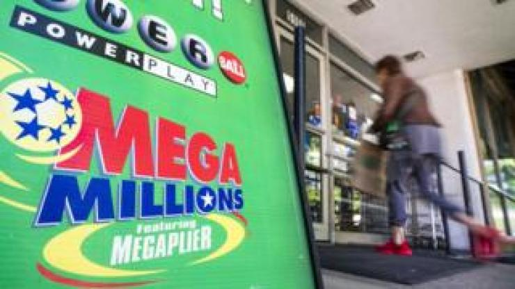 A store selling Mega Millions lottery tickets in Washington DC