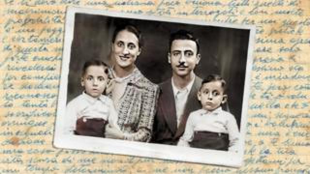 The Israel family before the war