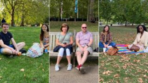 The BBC spoke to people in St James's Park, central London, on Saturday