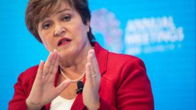 International Monetary Fund (IMF) Managing Director Kristalina Georgieva