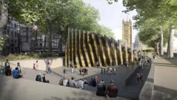 Holocaust Memorial in Westminster
