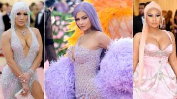 Jennifer Lopez, Kylie Jenner and Nicki Minaj