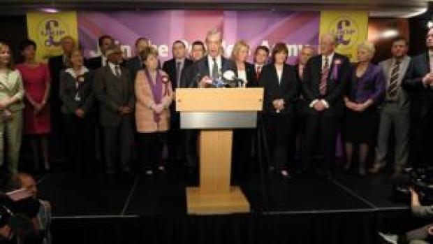 UKIP MEPs in 2014