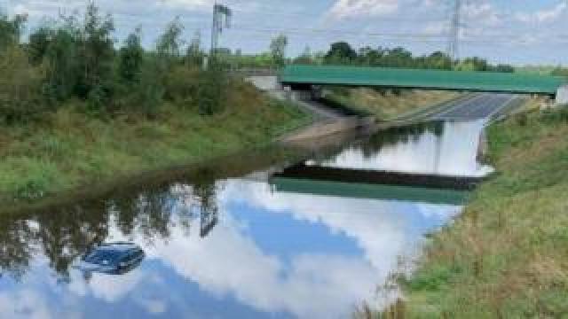 A34 floods