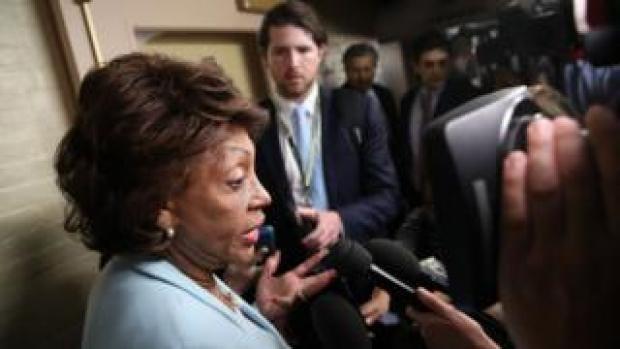US congresswoman Maxine Waters