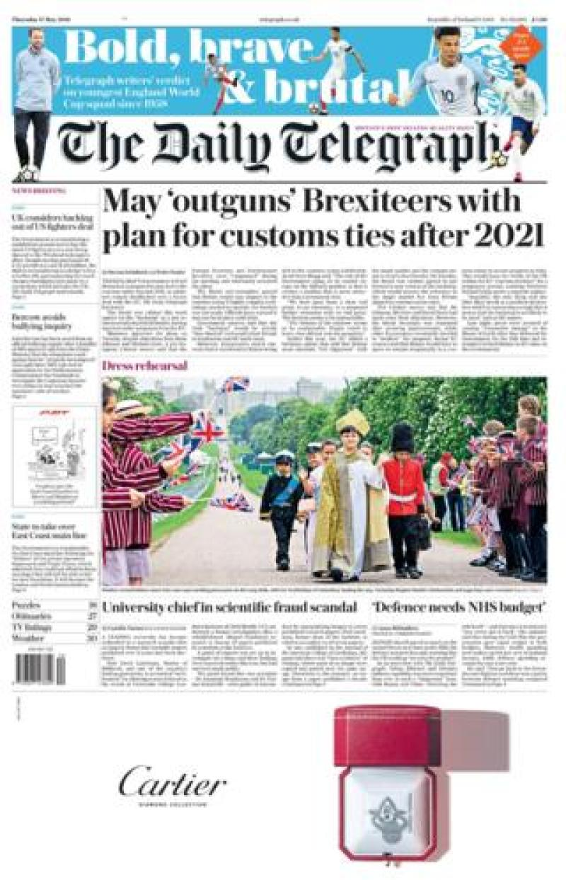The Telegraph Thursday