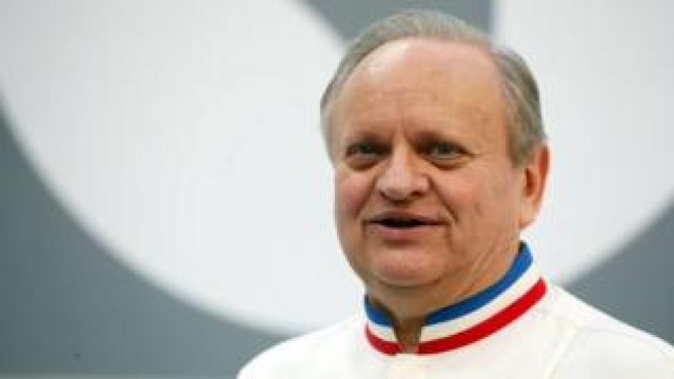 French Chef Joel Robuchon attends the opening of the Taste Festival at the Grand Palais in Paris, France, 21 May 2015.