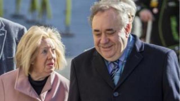 Alex and Moira Salmond