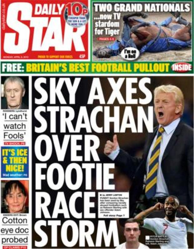 Daily Star front page, 8/4/19