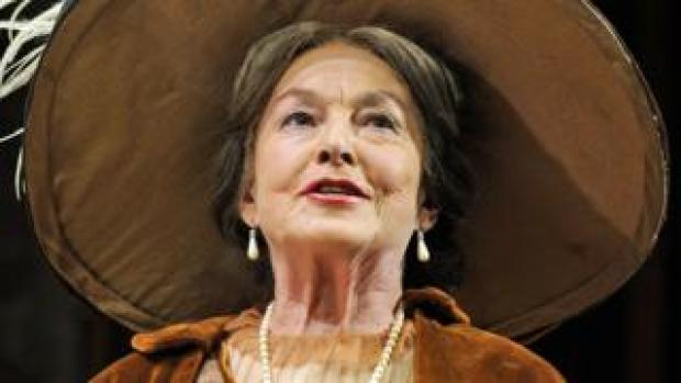 Barbara Jefford in Pygmalion at the Old Vic in 2008