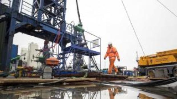 Cuadrilla fracking site in Preston New Road