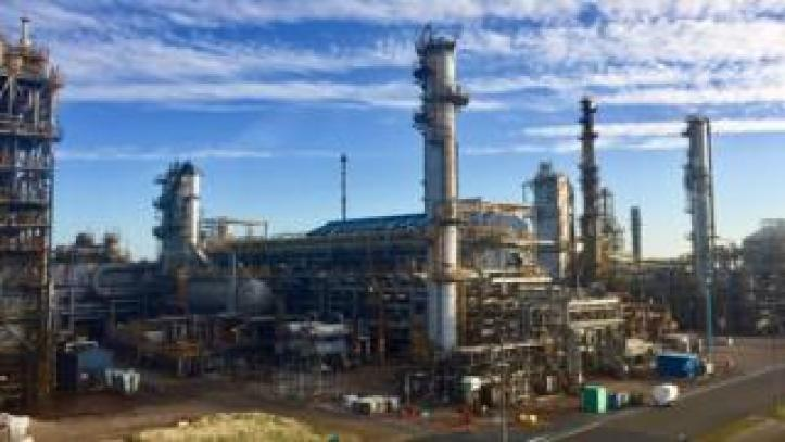 Mossmorran Chemical Plant Pic: Angie Brown