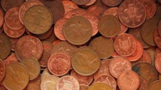 1p and 2p coins