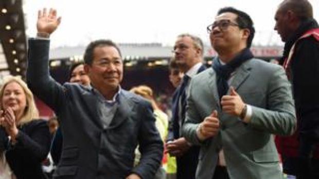 Mr Vichai and Top