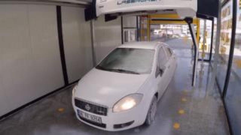 Car in car wash