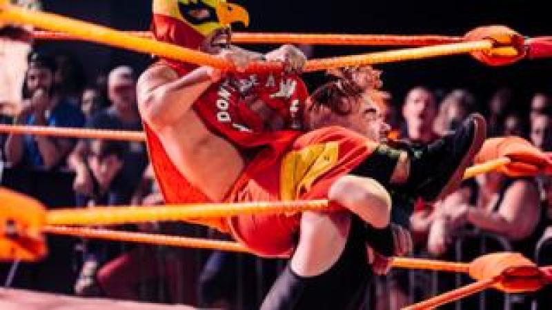 Extreme Dwarfanators Wrestling promo shot