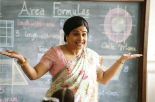 Vidya Balan in and as Shakuntala Devi