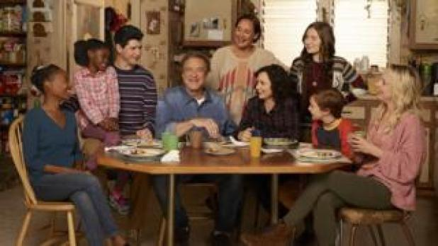 The cast of The Conners