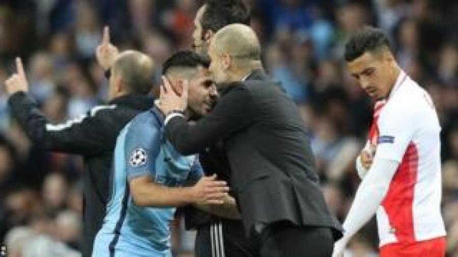 Manchester City ihura na Monaco