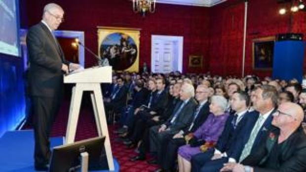 Duke of York addresses Pitch@Palace event in 2016
