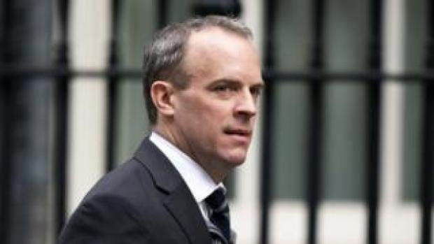 Foreign Secretary Dominic Raab
