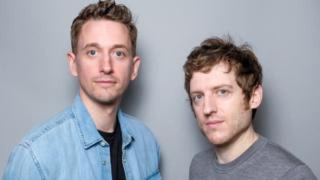 John Robins (l) and Elis James