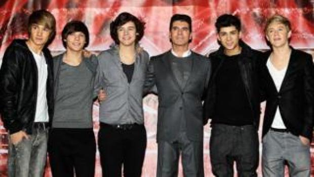 One Direction formed on The X Factor in 2010