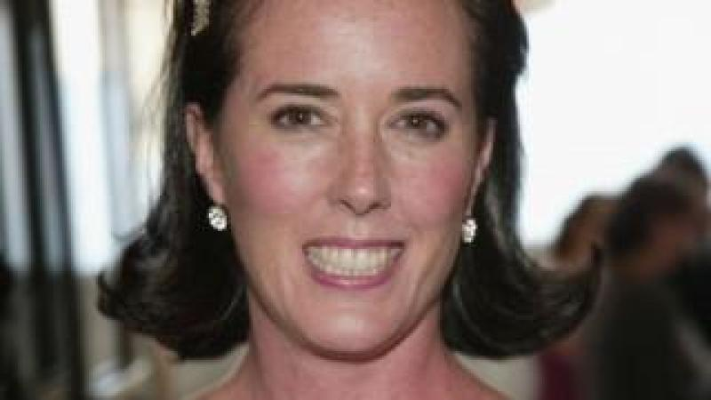 Kate Spade pictured in June 2018