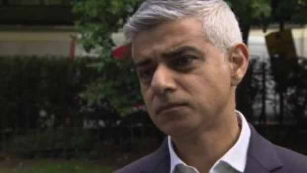 London Mayor Sadiq Khan