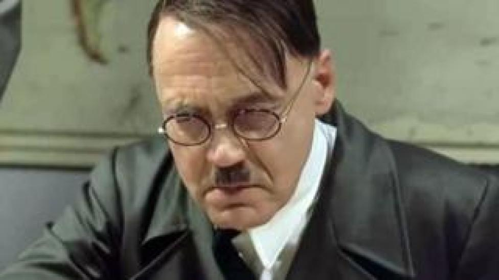 Bruno Ganz playing Adolf Hitler in Downfall