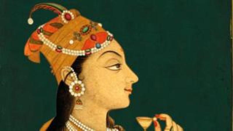 A portrait of Nur Jahan