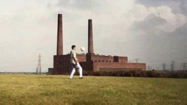 Keep ups in the shadow of Carrington Power Station. Irlam, 1990s
