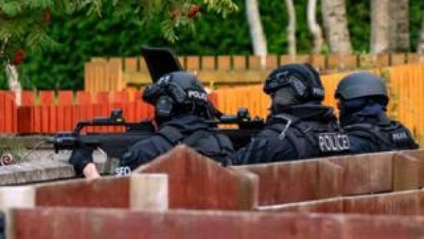 Firearms officers in Elgin