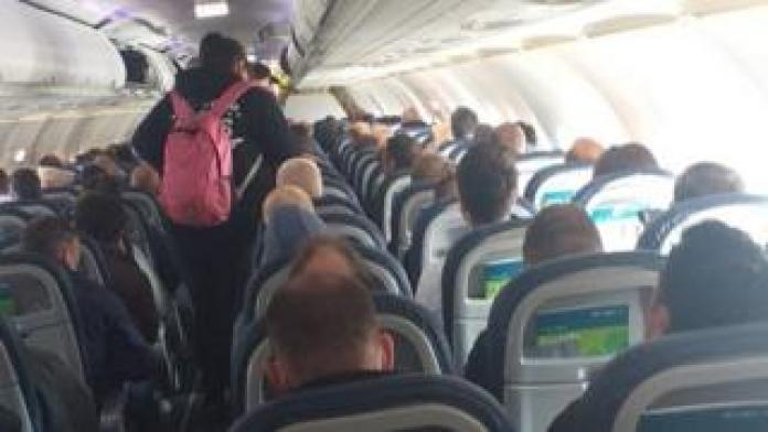 Aer Lingus flight from Belfast to Heathrow, May 4, 2020