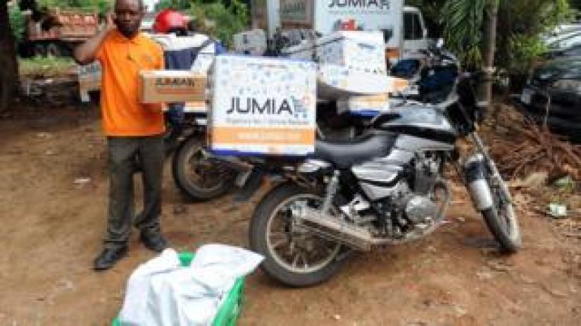 Jumia delivery driver