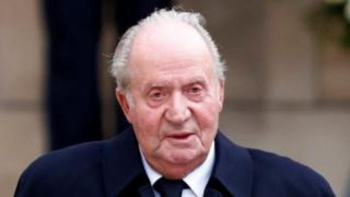 Spanish ex-King Juan Carlos (file photo)