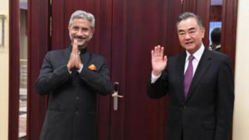 India's S. Jaishankar and China's Wang Yi