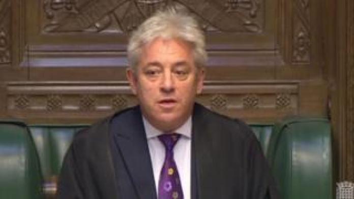 Commons Speaker John Bercow
